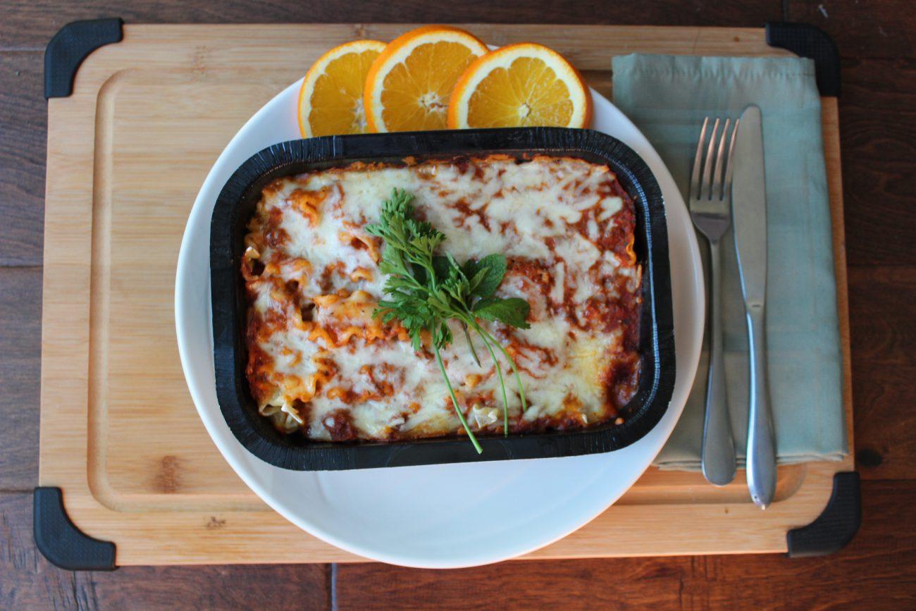 AirGO cook frozen Lasagna