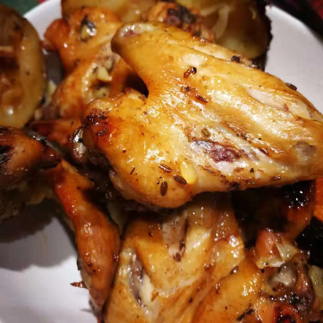 AirGO Air fried whole chicken wings