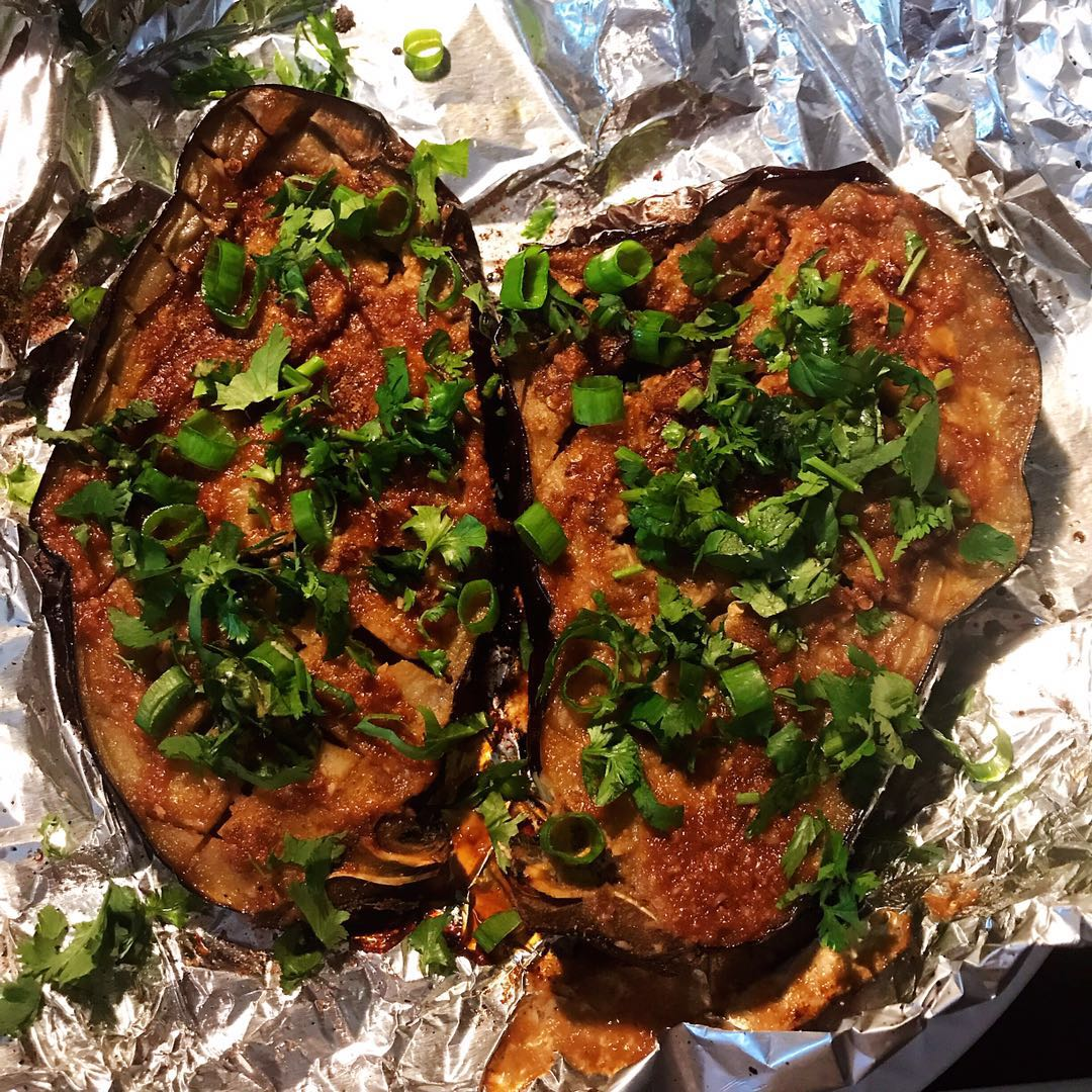 Grill Eggplant