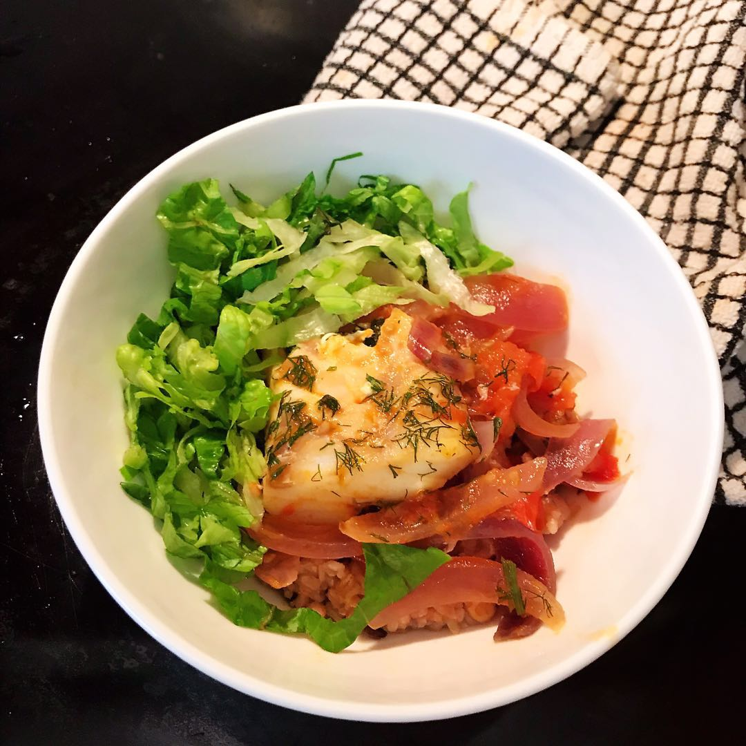 Tomato Cod (Vietnamese style)