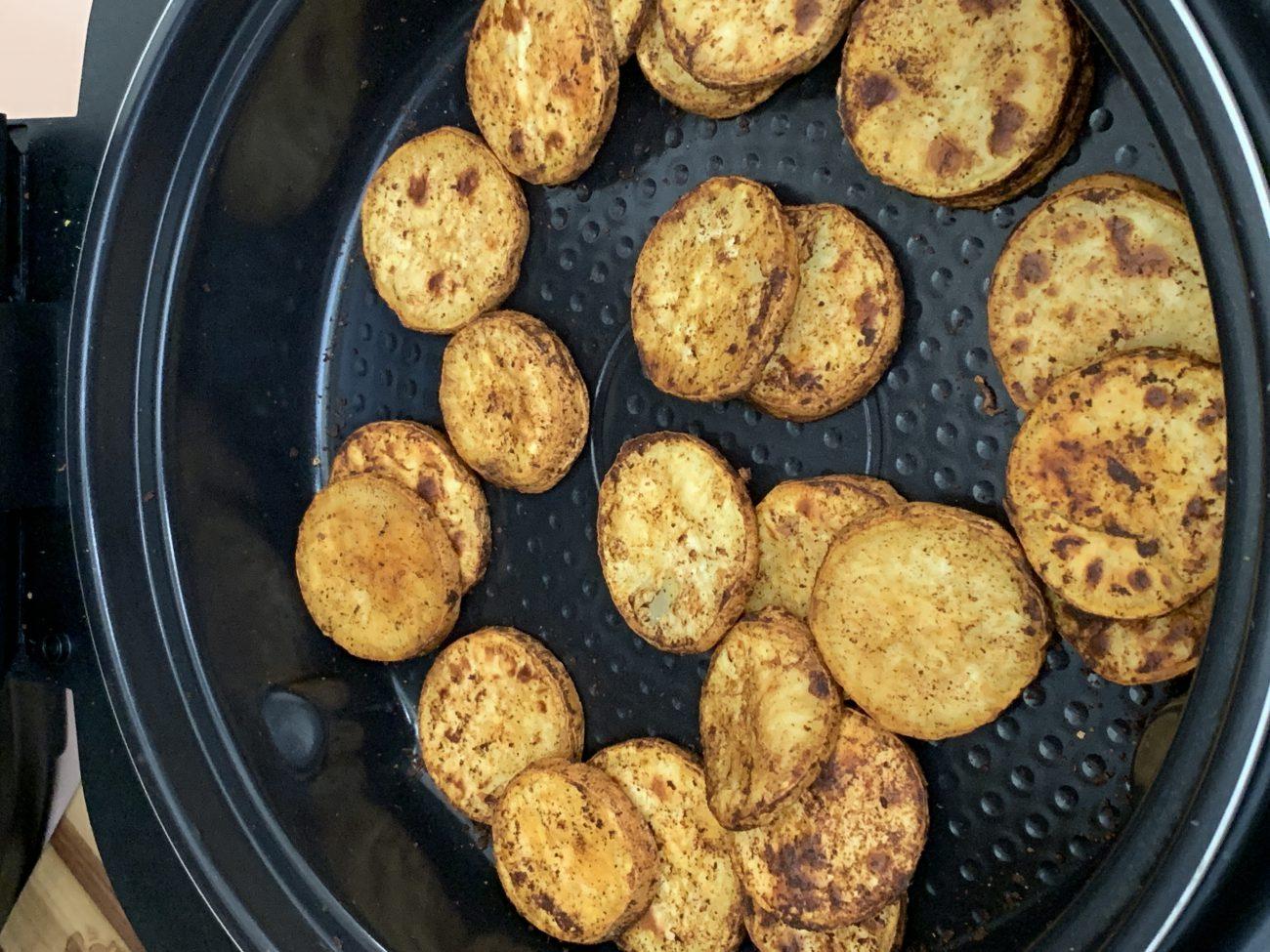 Cinnamon and Chipotle Sweet Potatoes