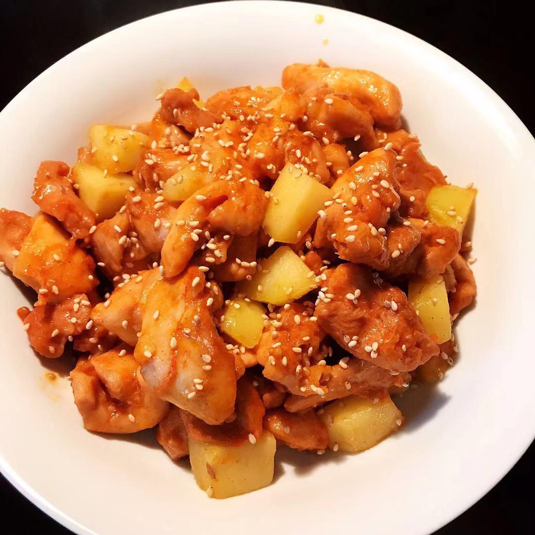 Simple Chicken Potato