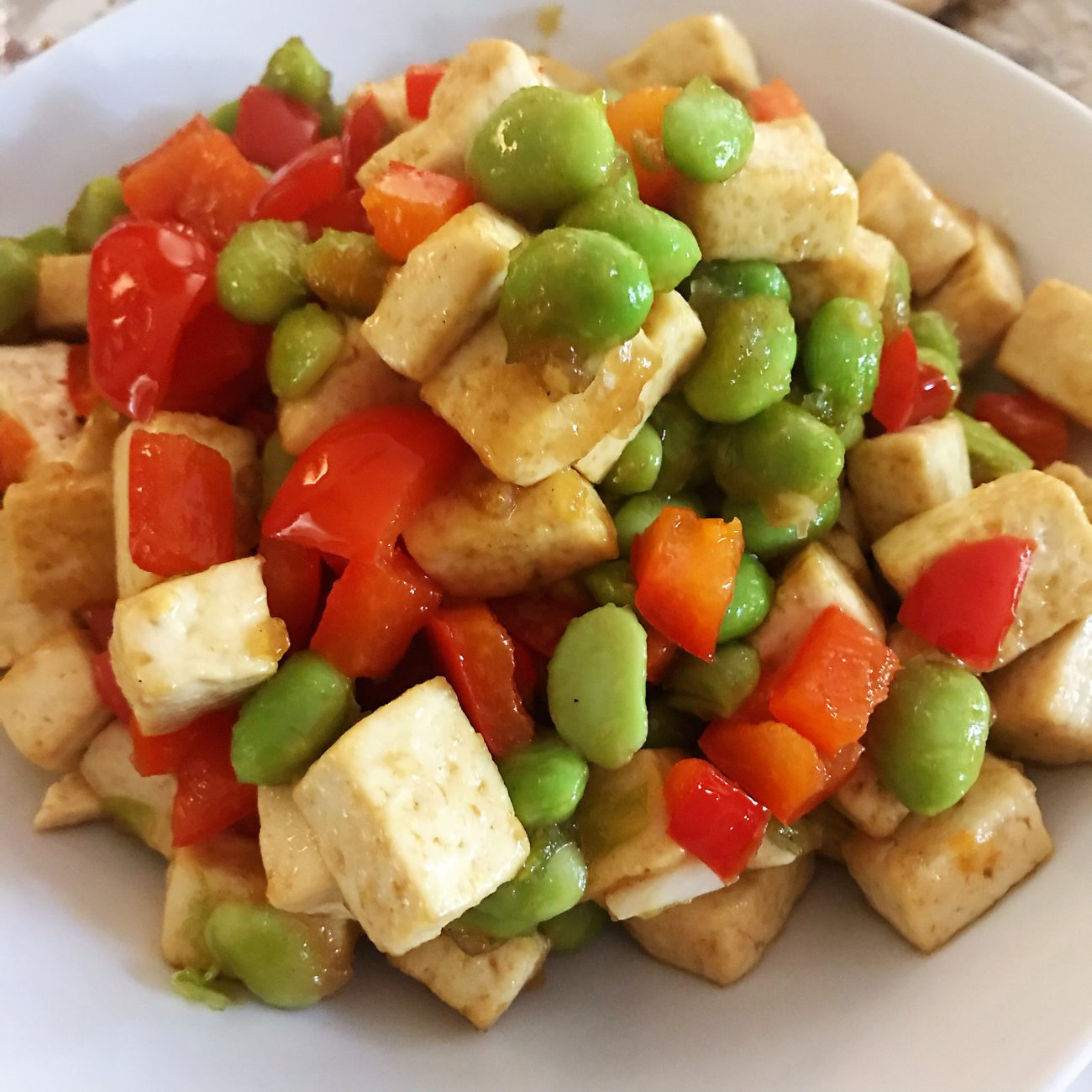 Tofu with Soybeans