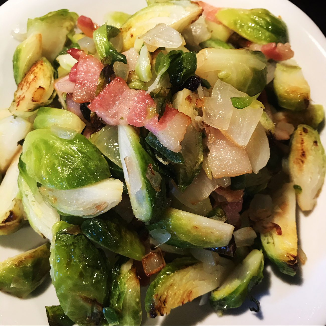 AirGO Roasted Brussel Sprouts