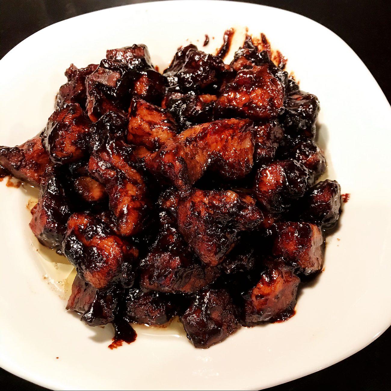 Grilled sweet bean sauce Pork (Jiang Bao Rou酱爆肉)