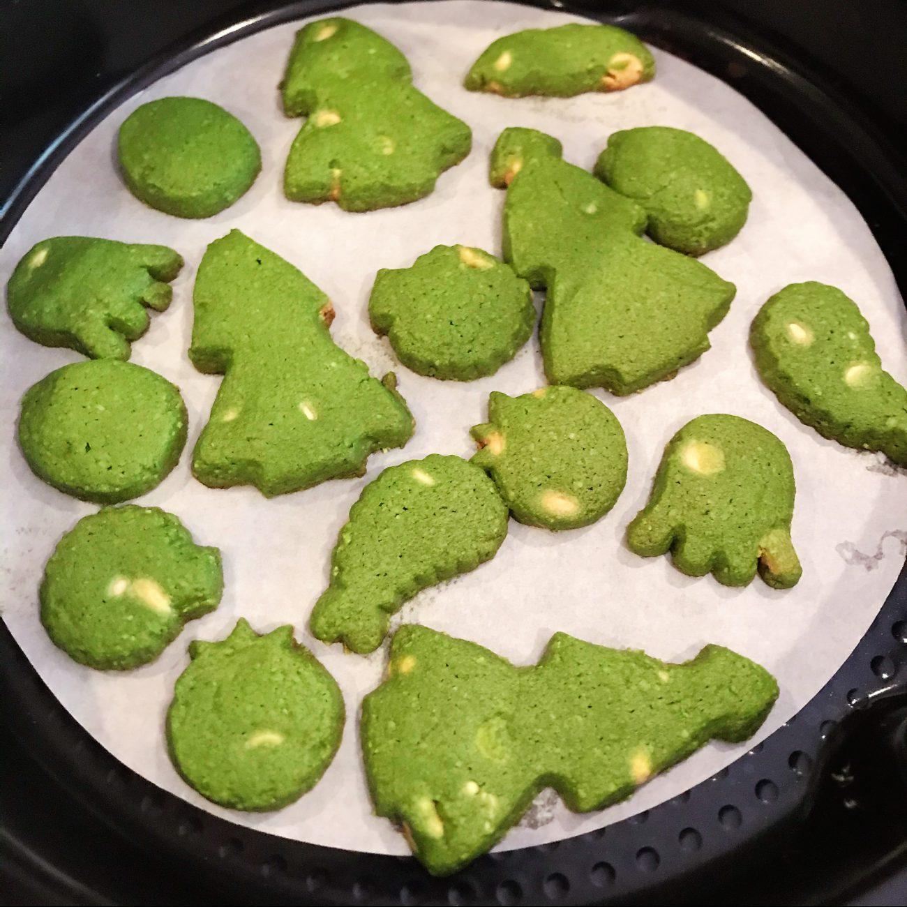 Matcha (Green Tea) cookies