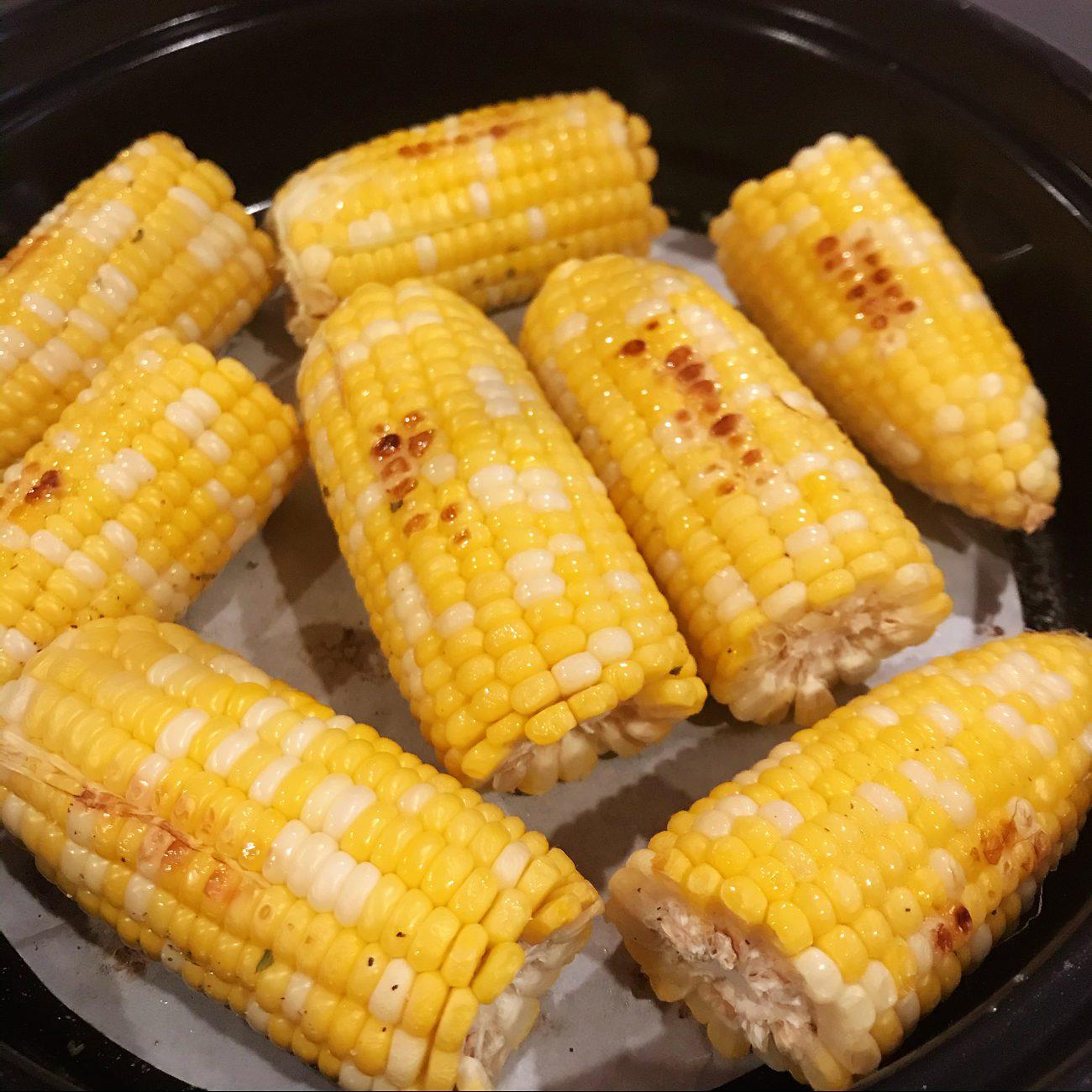 Super Easy Grilled Corn