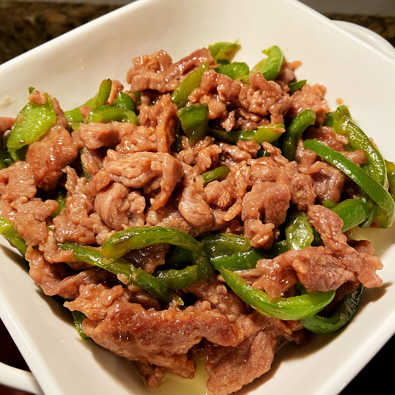Pepper Stir with Beef