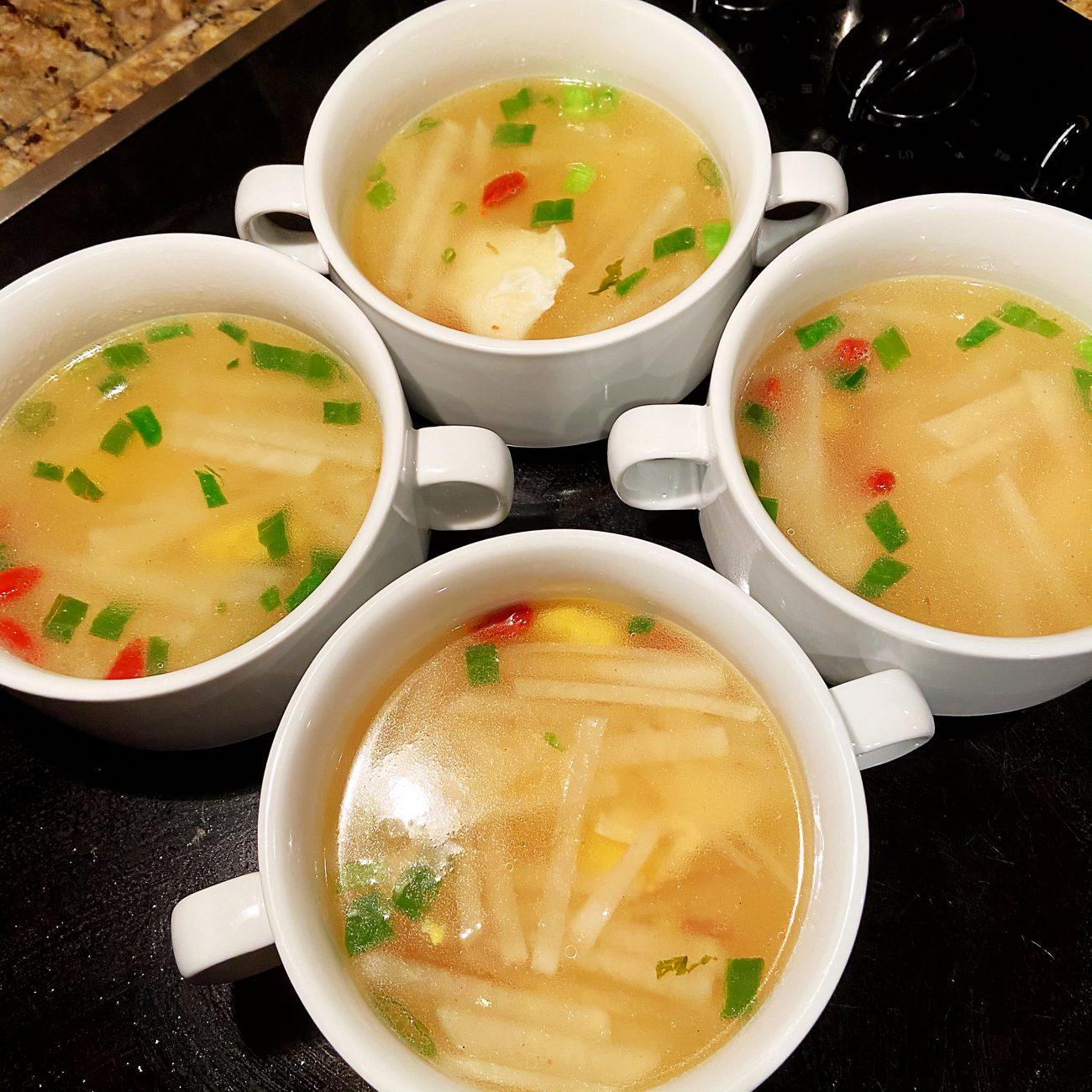 Radish (Daikon) Eggs Soup