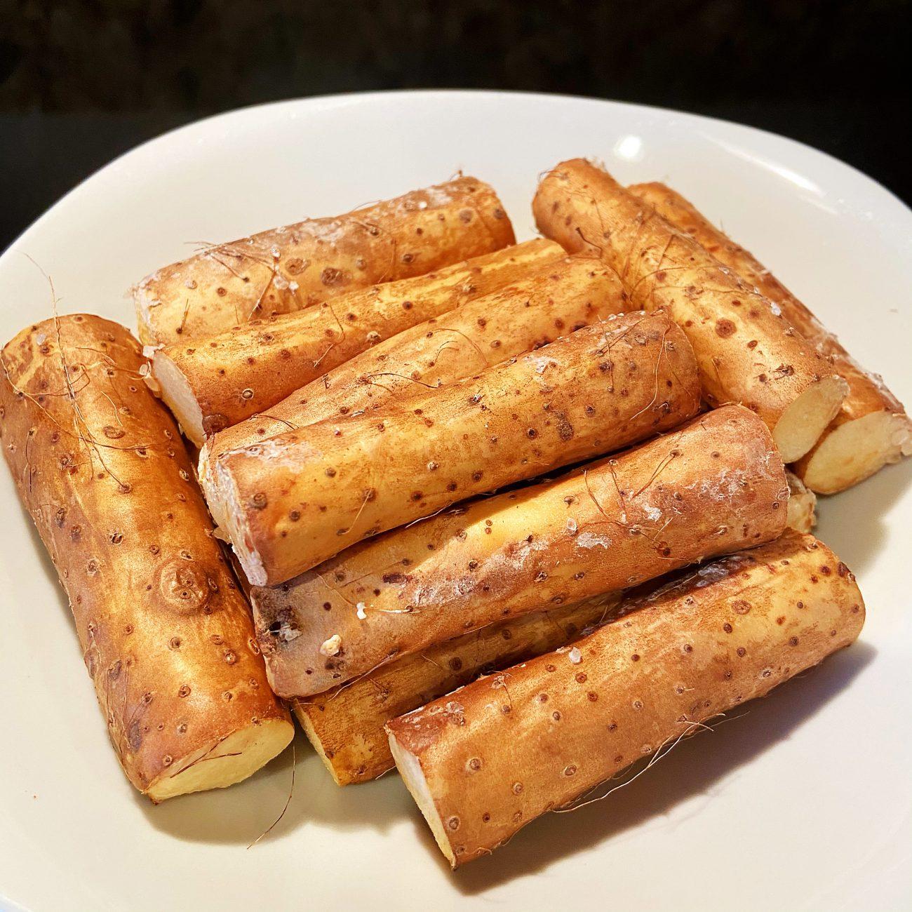 Coarse salt baked Chinese Yam