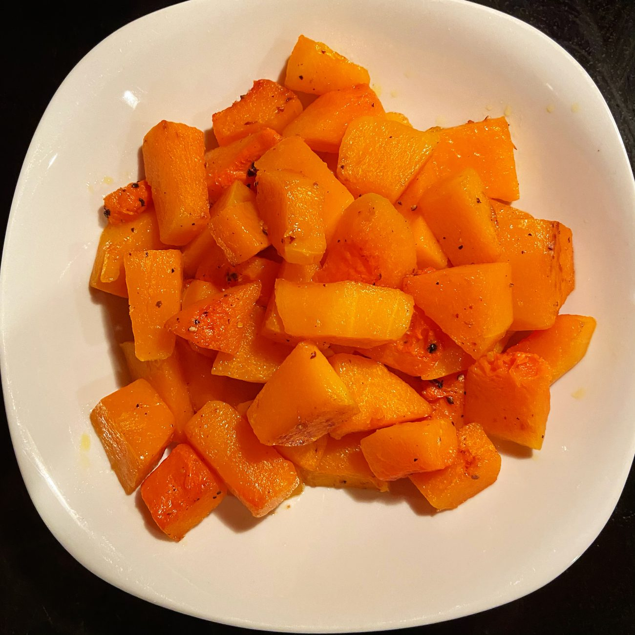 Baked Creamy  Butter Squash