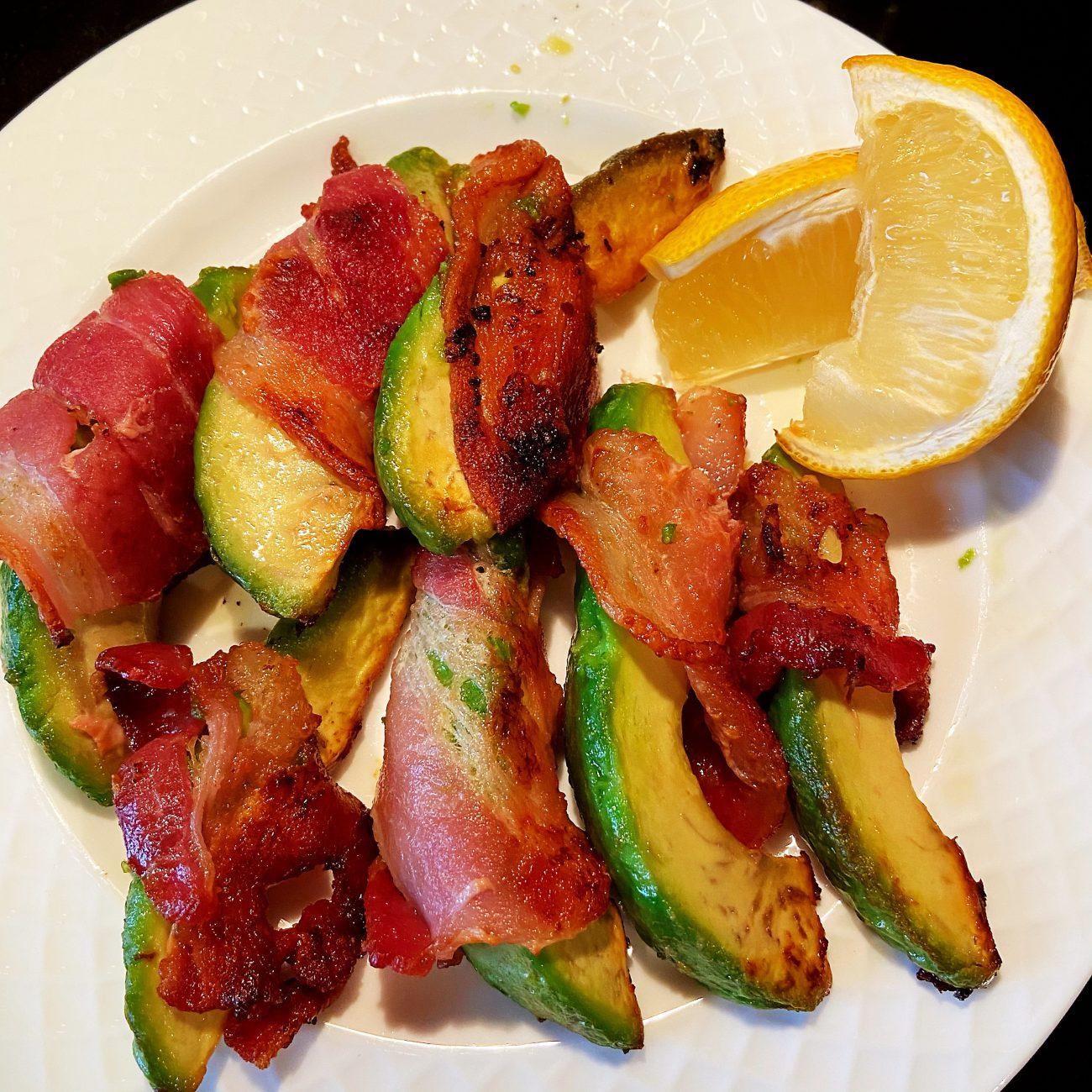 Bacon- Wrapped Avocado