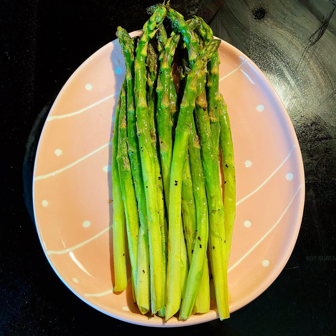 Super tender Grilles Asparagus
